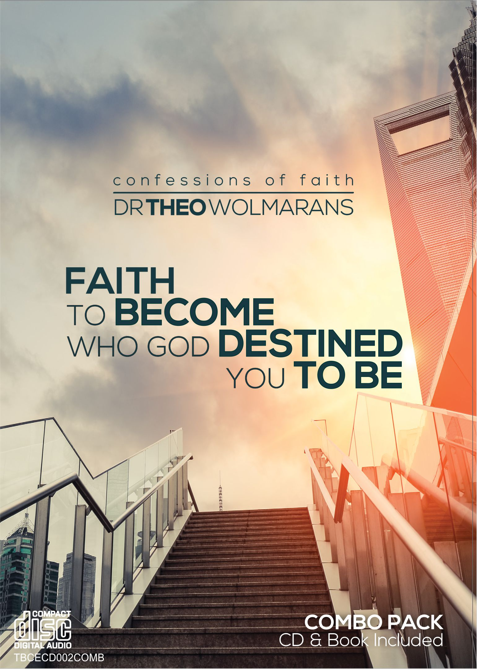 Faith to Become Who God Destined You to Be DVD Cover for Combo – May 2015