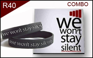 01 WE WON'T STAY SILENT