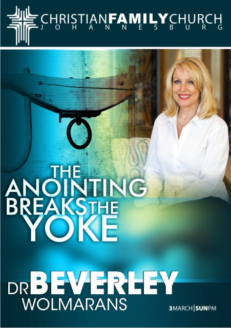 The anointing breaks the yoke  1