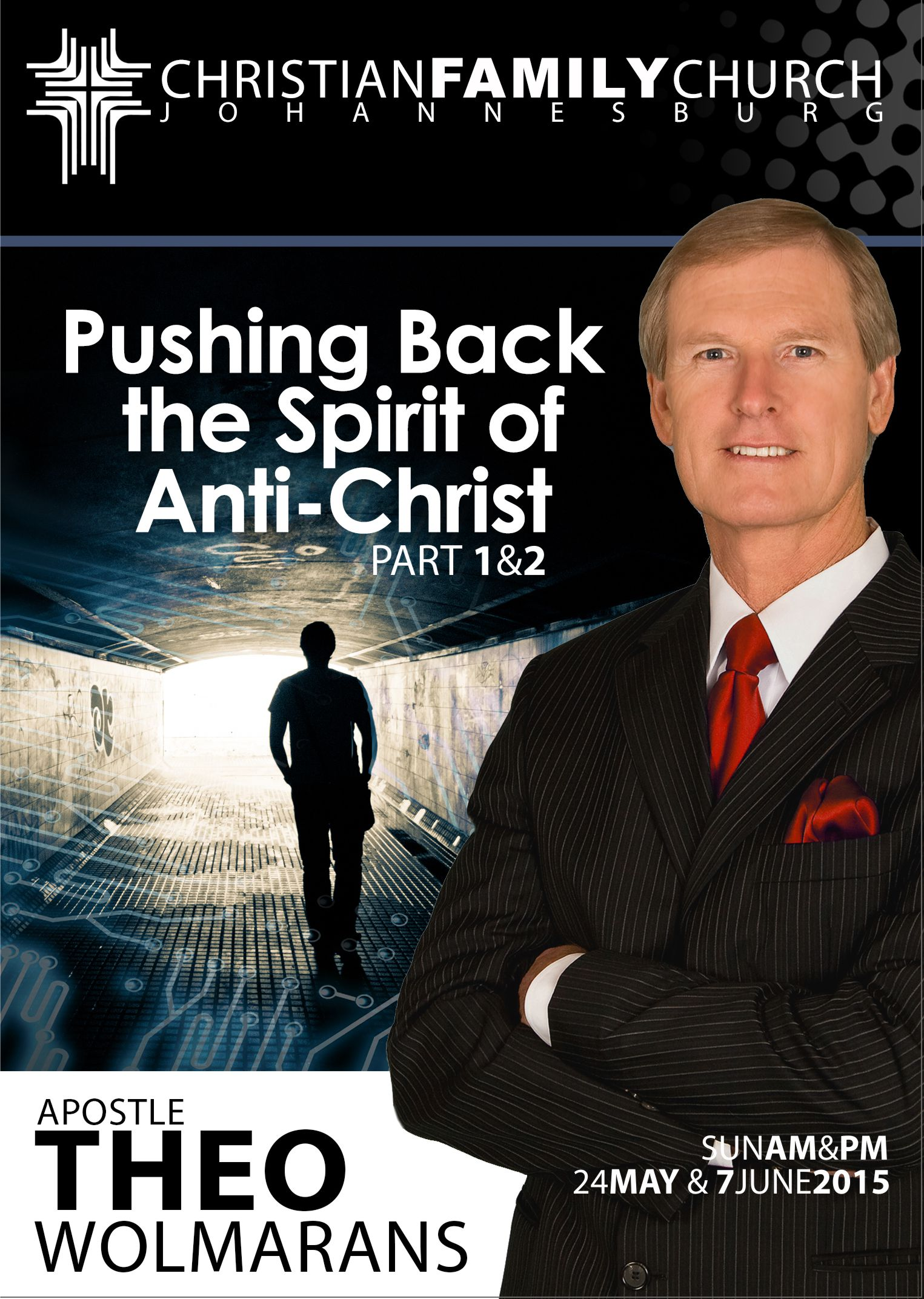 Pushing back the spirit of anti Christ – Part 1 & 2