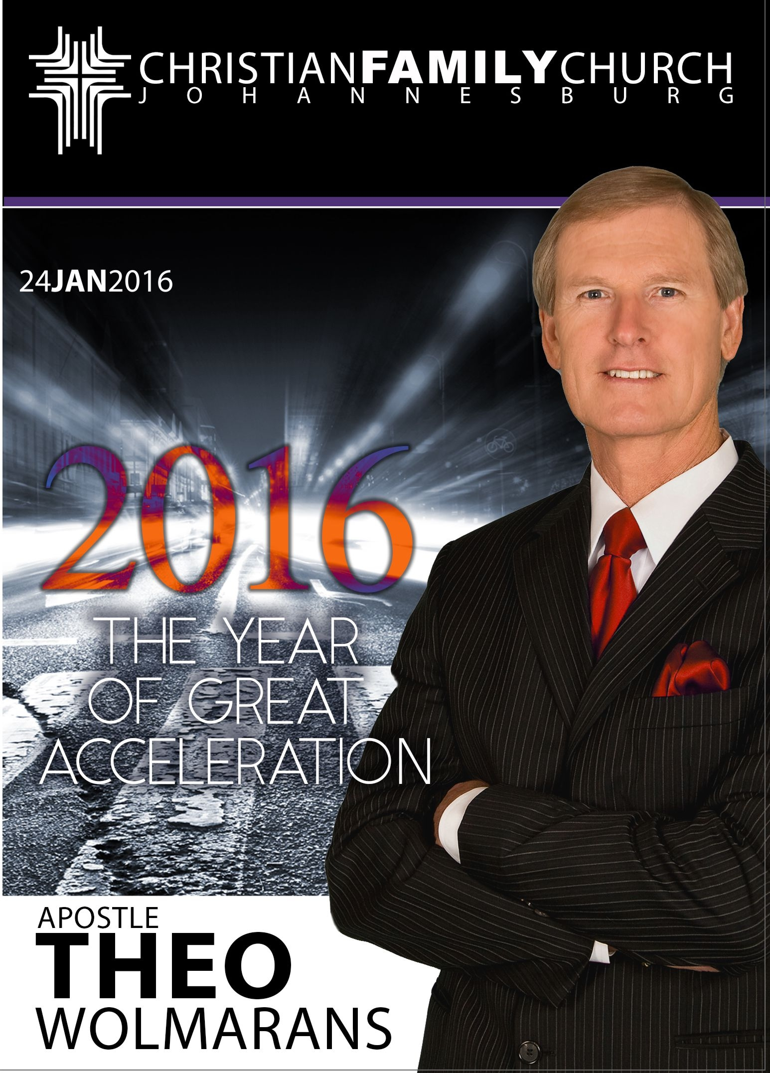 2016 The Year of Great Acceleration