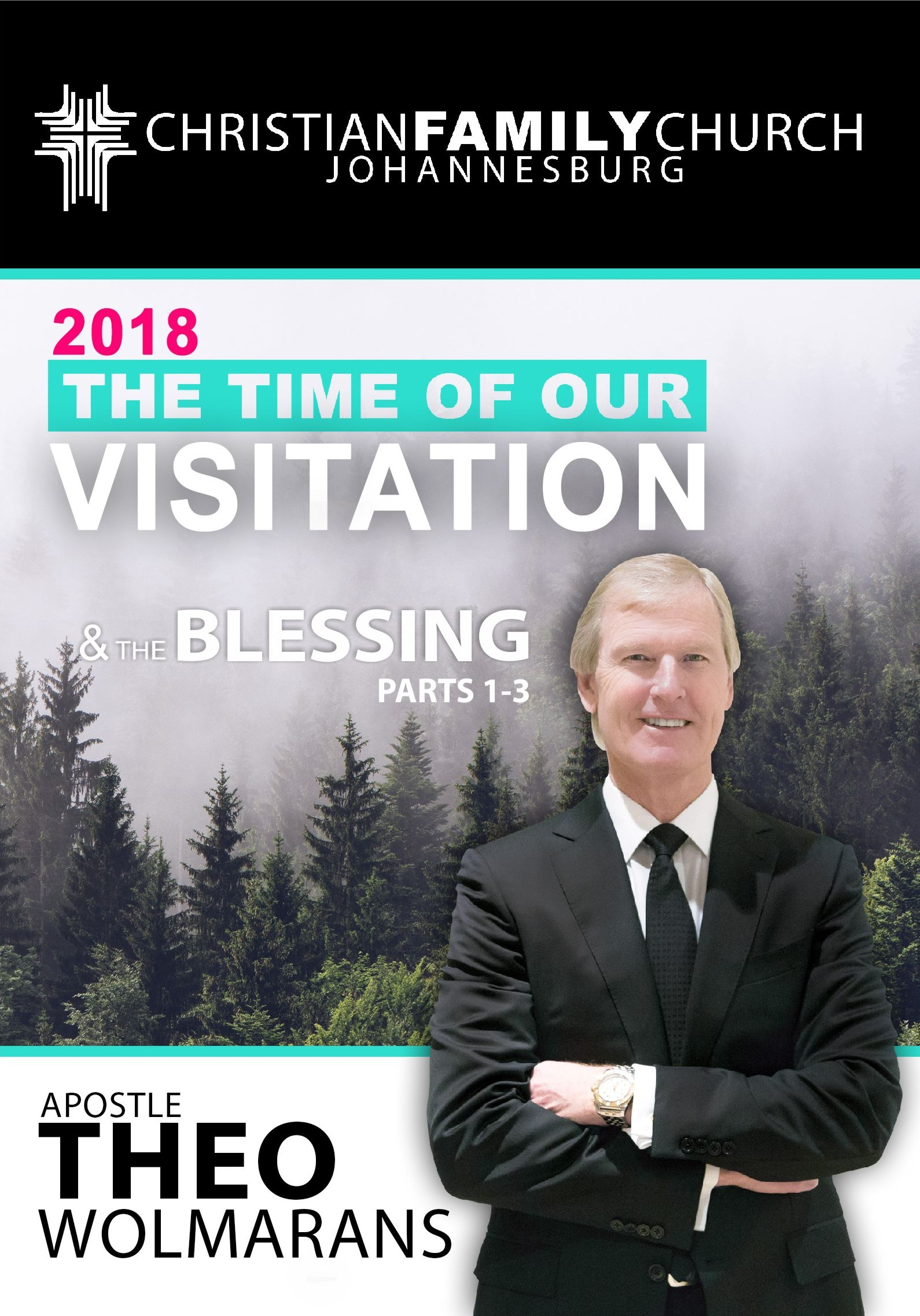 DR THEO WOLMARANS – 2018THE TIME OF OUR VISITATION-CDSETS