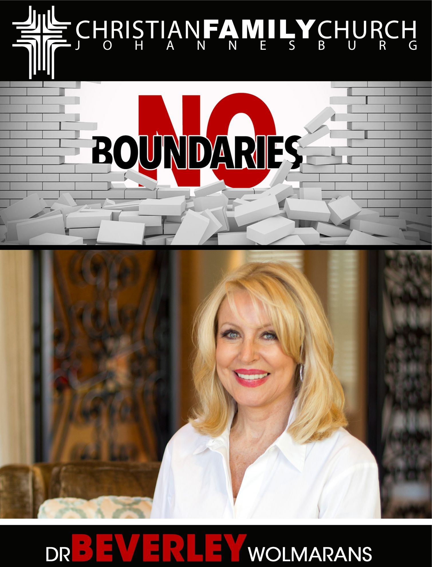 Dr Beverley Wolmarans – No Boundaries – CD