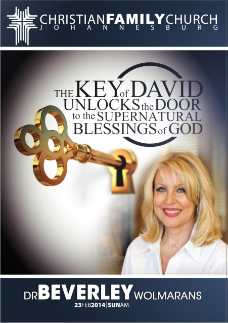 The key of David unlocks the door to the supernatural blessing of God